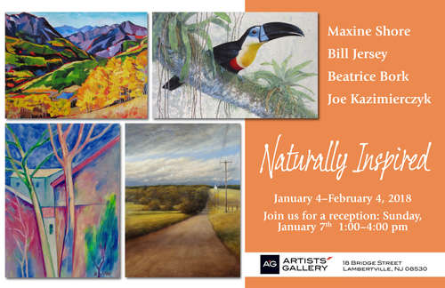 Naturally Inspired (4X4 Winter Group exhibit series)